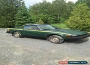 Triumph: TR7 for Sale