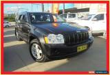 Classic 2005 Jeep Grand Cherokee WH MY2006 Laredo Black Automatic 5sp A Wagon for Sale