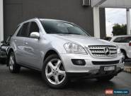 2007 MERCEDES-BENZ ML500 W164 Wagon 5dr Luxury Spts Auto 7sp 4x4 5.5i 645kg for Sale