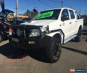 Classic 2009 Toyota Hilux KUN26R 08 Upgrade SR (4x4) Automatic 5sp A Dual Cab Chassis for Sale