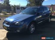 2003 Subaru Outback MY04 2.5I Luxury Blue Manual 5sp M Wagon for Sale