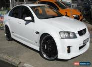 2009 Holden Commodore VE MY10 SS White Manual 6sp M Sedan for Sale
