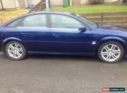2004 VAUXHALL VECTRA SRI 16V BLUE for Sale