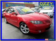 2005 Mazda 3 BK SP23 Red Manual 5sp M Sedan for Sale