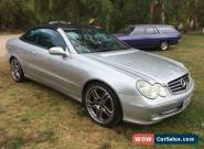 Mercedes CLK320 Avantgarde 2003 Convertible for Sale