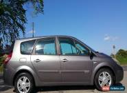 2005 RENAULT SCENIC P-EGE VVT T 16V GREY 2.0l turbo Spares or Repair  for Sale
