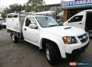 2008 Holden Colorado RC LX (4x4) White Manual 5sp M Cab Chassis for Sale