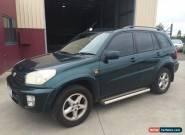03 TOYOTA RAV4 CRUISER SUV-MAN-201K'S-NOW $4,999 REG & RWC-GOOD CLEAN SUV. for Sale