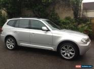 2009 BMW X3 XDRIVE20D M SPORT AUTO SILVER for Sale