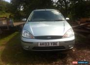 Ford focus 2003 TDCI Estate (Spares or repairs) for Sale