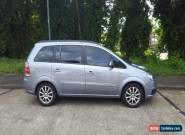 2005 VAUXHALL ZAFIRA CLUB SILVER for Sale