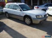 2003 Subaru Outback MY04 2.5I White Automatic 4sp A Wagon for Sale