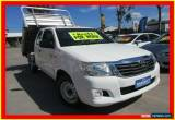 Classic 2011 Toyota Hilux GGN15R MY12 SR White Automatic 5sp A Utility for Sale