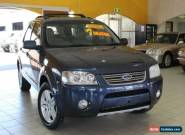 2007 Ford Territory SY Ghia Steel Automatic 4sp A Wagon for Sale