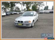 1999 BMW 318I E46 18I Silver Automatic 4sp A Sedan for Sale