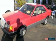 MERCEDES BENZ 300CE W124 COUPE AUTO NOT RUNNING GOOD PROJECT CHEAP NOT DAMAGED for Sale