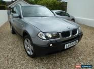 2004 BMW X3 SPORT AUTO GREY for Sale
