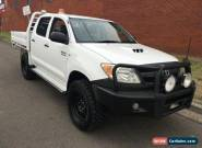 2007 Toyota Hilux KUN26R 07 Upgrade SR (4x4) White Manual 5sp M for Sale
