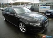 2010 Audi A4 2.0 TDI S Line Multitronic 4dr for Sale