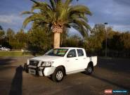 2007 Toyota Hilux GGN25R MY07 SR White Automatic 5sp A 4D UTILITY for Sale