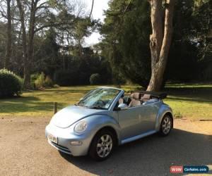 Classic 2004 Volkswagen Beetle 1.9TDI 3 Door Hatchback Convertible Blue for Sale