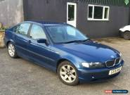 2001 BMW 318I SE BLUE (SPARES OR REPAIRS) for Sale