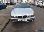1998 BMW 528I Auto Grey/Silver leather interior for Sale