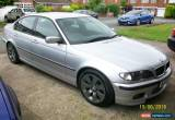 Classic 2003 03 plate BMW 325i Sport 6-speed auto, four door saloon in metallic silver. for Sale