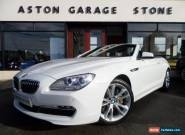 2011 11 BMW 6 SERIES 3.0 640I SE 2D AUTO 316 BHP for Sale