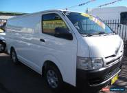 2008 Toyota Hiace TRH201R MY07 Upgrade LWB White Manual 5sp M Van for Sale