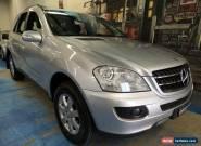 2006 Mercedes-Benz ML350 W164 Luxury Zircon Silver Automatic 7sp A Wagon for Sale