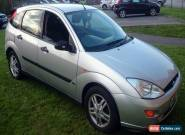 2000 FORD FOCUS ZETEC SILVER 1.8 petrol 125k  for Sale