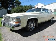 1983 Cadillac Brougham for Sale