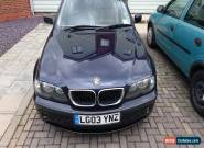 2003 BMW 320D SE BLUE for Sale