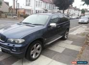 BMW X5 4x4 3.0 diesel m sport e53 for Sale