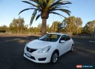 2013 Nissan Pulsar C12 ST White Automatic A Hatchback for Sale