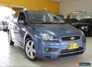 2007 Ford Focus ZETEC LS Blue Manual M Hatchback for Sale