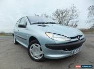 2003 Peugeot 206 1.4 HDi LX 5dr (a/c) for Sale