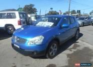 2008 Nissan Dualis J10 ST (4x4) Blue Manual 6sp M Wagon for Sale