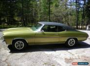 Chevrolet: Chevelle 2-dr Coupe for Sale