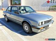 1989 BMW 3-Series for Sale