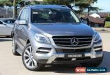 Classic 2013 Mercedes-Benz ML 166 350 CDI Bluetec (4x4) Tenorite Grey Automatic 7sp A for Sale