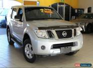 2010 Nissan Pathfinder R51 MY10 ST Silver Manual M Wagon for Sale