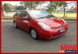 Classic 2006 Toyota Prius I-Tech Red Automatic A Hatchback for Sale