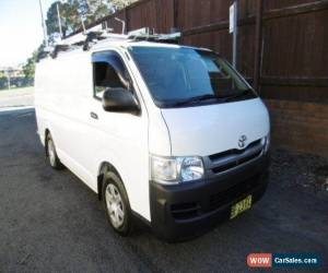 Classic 2010 Toyota Hiace TRH201R MY07 Upgrade LWB White Automatic 4sp A Van for Sale