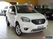 2012 Renault Koleos EXPRESSION H45 PHASE II White Automatic A Wagon for Sale