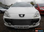 2006 PEUGEOT 307 S HDI WHITE FOR SPARES OR REPAIR M.O.T 14/11/15 for Sale