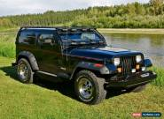 1992 Jeep Wrangler CHOPPED ROOF for Sale