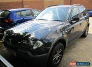 2004 BMW X3 SE AUTO / ESTATE / PETROL / 2494 CC / BLACK / 5 SEATS for Sale