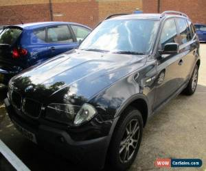 Classic 2004 BMW X3 SE AUTO / ESTATE / PETROL / 2494 CC / BLACK / 5 SEATS for Sale